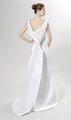 Albinoni Wedding Dress (Back) – Peter Langner Vienna 2012 Collection