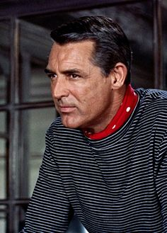 "Cary Grant as 'John Robie in ""To Catch A Thief"" (1955) by Alfred Hitchcock"