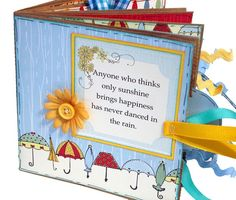 """Paper Bag Scrapbook--cute stuff--this os one talented, creative, & """"very productive"""" lady--will definitely take more time to paruse her site!!!  :-)"""