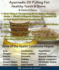 Oil Pulling - Fantastic to Detoxify