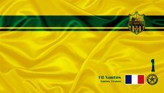 FC Nantes - Veja mais e baixe de graça em nosso Blog http://soccerflags.blogspot.com.br/