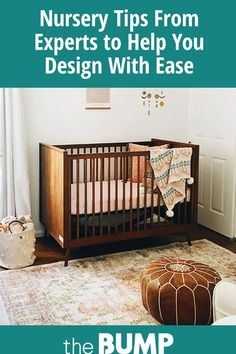 Read about expert tips from Lisa Janvrin, founder YouthfulNest, on how parents-to-be can stress less and design baby's nursery with ease. Rh Baby, Mom And Baby, Room Darkening Curtains, Drapes Curtains, Lower Lights, Bed Back, Custom Neon Signs, Baby Furniture, Mother And Child
