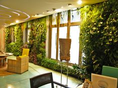Club Med, Paris | Vertical Garden Patrick Blanc