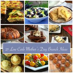 Mother's Day Brunch Ideas 2014  low carb