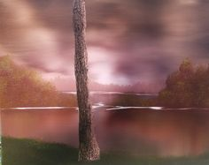 4 Easy Steps for Painting Realistic Tree Trunks - Paintings by BAF Simple Oil Painting, Oil Painting Techniques, Acrylic Painting For Beginners, Acrylic Painting Techniques, Painting Lessons, Painting Tutorials, Knife Painting, Art Lessons, Acrylic Tutorials