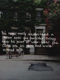 This is an exercise i ALWAYS try to do and love. I ALWAYS wonder about a person to try and understanding them better