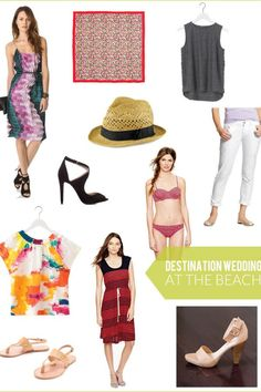 Destination wedding season is upon us! Here are some of my favorites that I found for going to a destination wedding. #style #clothes #travel