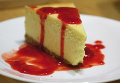 Tbonz again! New York Style #cheesecake!