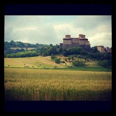 """""""Beautiful castle we saw today in Parma"""" by @acooknotmad"""