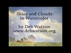 How to Paint a Sunset. Storm Clouds. Mood Sky. Tutorial by Peter Sheeler - YouTube