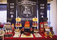 {party details} Classic Fire House Birthday Bash from Hostess with the Mostess