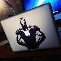 Iron Man MacBook Decal - $5