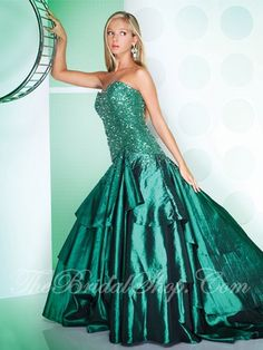 Looking for pretty green recital gown. I really like this...