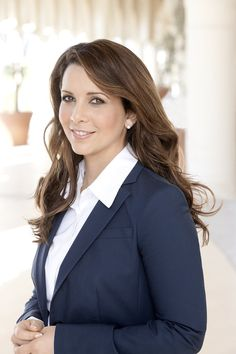First lady of Dubai Princess Haya of Jordan