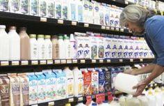 Shopping for milk