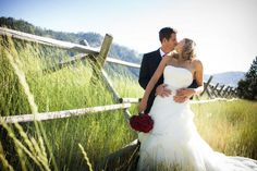 A classic Squaw Valley wedding photo