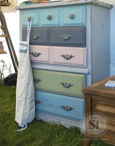 painted dresser - Bluestone Cottage Paints