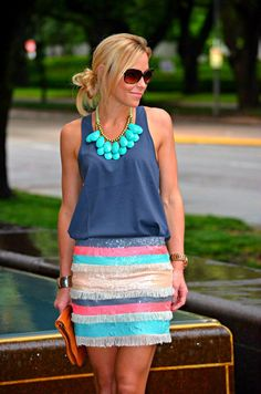 this whole outfit.. so pretty for summer!