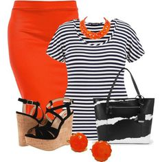 7 chic plus size work outfits for spring - summer - Page 7 of 7 - women-outfits.com