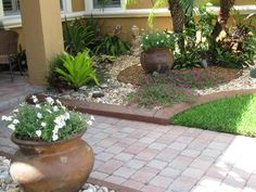 Tropical Rock Garden Design Ideas