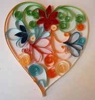 quilling hearts - Google Search