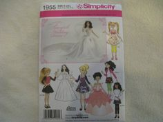 Simplicity Doll Clothes in 3 Sizes 10.5 inch by KCDesignandBuild, $3.00