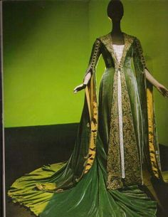 Scarlett's dressing gown