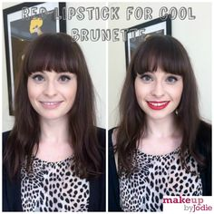 Products We Love: Red Lipstick for Brunettes With Cool Skin Tones