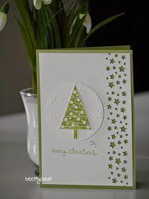 Die erste Weihnachtskarte auf einem Workshop ist auch schon entstanden.     Ich hatte zwei Varianten dabei, zwischen denen sich die Teilneh...