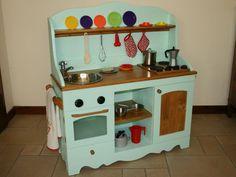 cozinha de brinquedo de madeira - Pesquisa Google