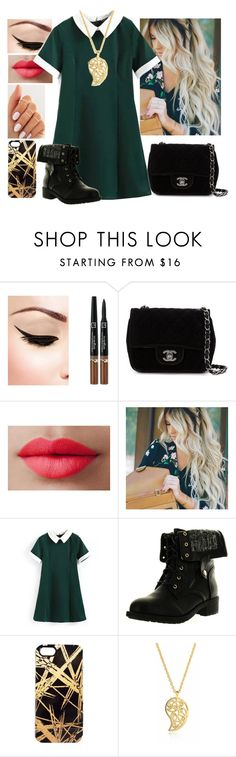 """""""Rich 'n' Reserved"""" by coconutgotchaday ❤ liked on Polyvore featuring Chanel, LORAC, Refresh, Khristian A. Howell and Sonal Bhaskaran"""