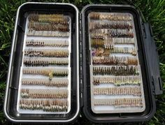 Mike Schmidt - Angler's Choice Nymph Box - Fly Box Porn by Fly Fish Ohio