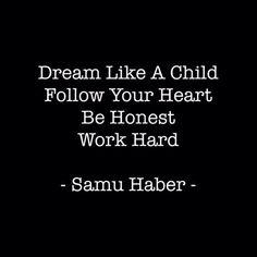 Dream like a Child...