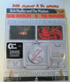 Online veilinghuis Catawiki: Bob Marley & The Wailers - 4 classic REGGAE albums (5LP's) on 180 gram vinyl + mp3 download * Babylon By Bus / Rastaman Vibration / Catch A Fire / Uprising *