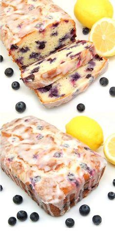 Lemon-Blueberry Yogurt Loaf