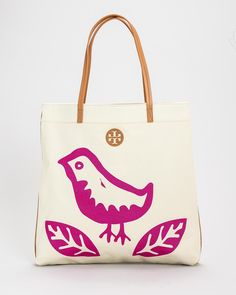 Product Name Tory Burch Bird Tote Bag at Modnique.com