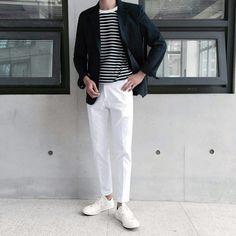 Korean Fashion Men, Ulzzang Fashion, Korea Fashion, Korean Men, Boy Fashion, Mens Fashion, Fashion Outfits, Classy Outfits, Outfits For Teens