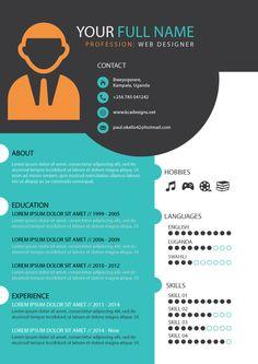 Contoh Daftar Riwayat Hidup Yang Menarik Cv Pinterest Resume