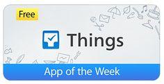 Things แอพฯจดบันทึกเตือนความจำบน iPhone และ iPad แจกฟรีจากราคา $19.99 App of the Week