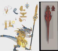 tww2-kroq-gar-403x360 Total War: Warhammer 2 concept art compiled