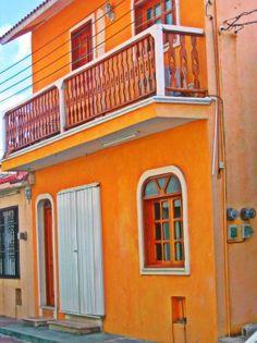 Buildings on Isla Mujeres
