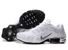 Nike Shox R5 Mens White Black Shoes now on hot sale 357a7e30f