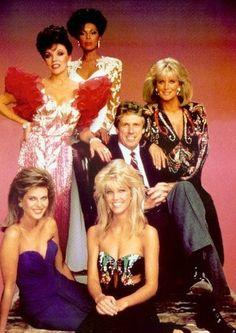 """""""Dynasty"""" - female cast fashion (1980s)"""