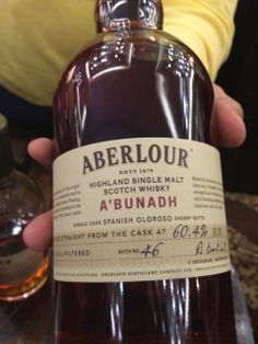 Aberlour A'Bunadh Aged in a sherry cask Whiskeyfest Chicago 14