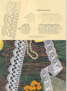 Picasa Web Albums- great filet crochet edging ideal for skirt,dress,or blouse bottom. Many Free crochet edging diagram, chart patterns. World crochet: Crocheted lace 8 Crochet Border Patterns, Crochet Lace Edging, Crochet Motifs, Crochet Diagram, Crochet Doilies, Crochet Flowers, Crochet Stitches, Diagram Chart, Crocheted Lace