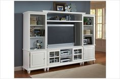 I want something like this...something to put a tv on, but that I can decorate up nice and cute :)