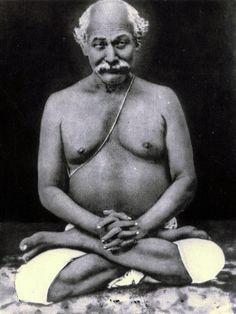 Lahiri Mahasaya, disciple of Babaji.