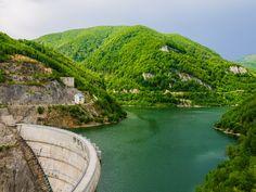 Dam into hills by Adrian  Dragan on 500px