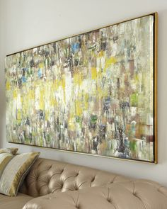 John Richard Collection Slickers Abstract Painting John-Richard Collection