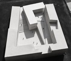 Propuesta para el Museo Regional de Atacama,Maqueta